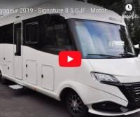 Le Voyageur 2019 - Signature 8.5 GJF - Motorhome Live Preview