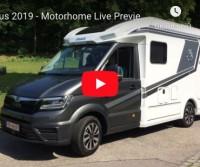 Knaus 2019 - Motorhome Live Preview Van TI Plus 650 MEG on M.A.N. TGE