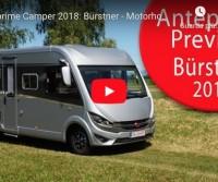 Anteprime Camper 2018: Bürstner