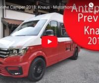 Anteprime Camper 2018: Knaus