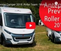 Anteprime Camper 2018: Roller Team