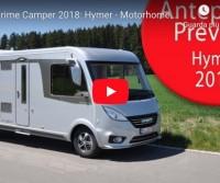 Anteprime Camper 2018: Hymer