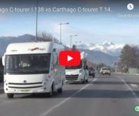 Carthago C-tourer I 138 vs Carthago C-tourer T 145 H: sfida tra motorhome e profilato