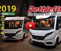Dethleffs 2019 - Anteprime Camper - Motorhome Preview