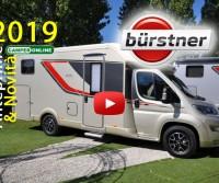 Bürstner 2019 - Anteprime Camper - Motorhome Preview