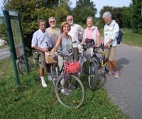 Borgogna con camper e bici