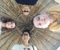 Con le sette sorelle a Winchester