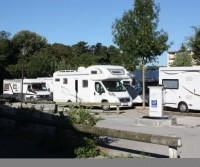 Aire de camping car millau