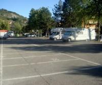 Area di sosta a Bobbio
