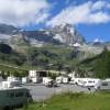 Area sosta camper Parcheggio del Breuil, L'area di sosta riservata ai camper, 28/07/17