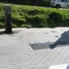 Area sosta camper Parcheggio del Breuil, Il camper service, 28/07/17