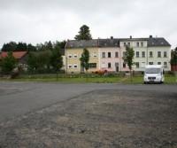 Stellplatz am bahnhof