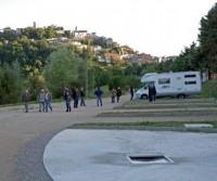 Area sosta camper comunale