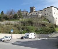 Area di sosta a Ferentino