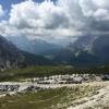 Area sosta camper a Auronzo di Cadore, Prima settimana di Agosto 2015, 13/08/18
