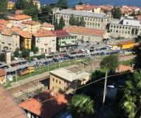 Parcheggio stazione di Bellano