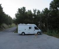 Parcheggio nel Parco Nazionale Lovcen
