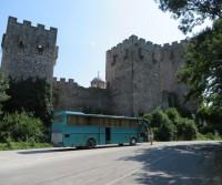 Parcheggio del Monastero di Manasija