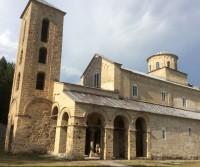 Parcheggio del Monastero di Sopocani