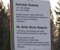 Arctic Circle Campsite