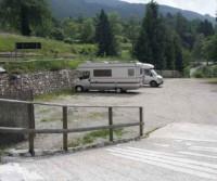 Area sosta lago di Tenno