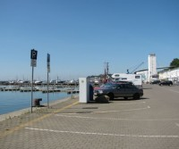 Parcheggio del porto peschereccio