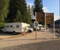 Parcheggio Camper Soraga