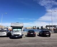 Parcheggio porto Skagen