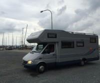 Area camper molo turistico