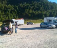 Parcheggi Passo San Pellegrino