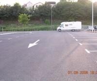 Parking de l'ancienne gare