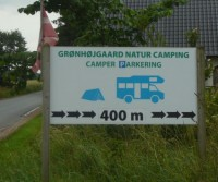 Autocamperplads - Gronhoigaard Natur Camping