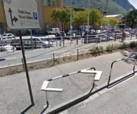Parcheggio dello stadio