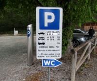 Parcheggio a Bled