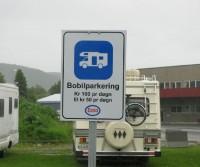 Bobilparkering Esso