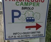 Parcheggio Camper Sirolo