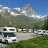 Area sosta camper Parcheggio del Breuil, 28/07/17