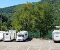 Parcheggio Lago di Suviana