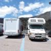 Area sosta camper Parcheggio Rifugio Sapienza, 22/02/18