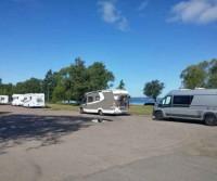 Parcheggio sul Lago Vattern