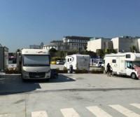 Parking Caravanas Marina Coruna