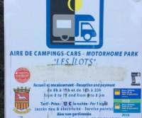 Aire d'accueil camping-cars des Ilots