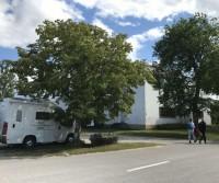 Parcheggio della Casa della Cultura Livone