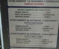 Parcheggio Alhambra