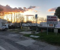 Area camper di Lido di Savio
