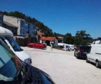 Área de estacionamento Autocaravanas