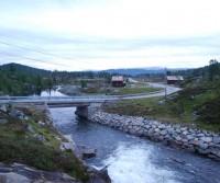 Area di sosta a Vamark - Setesdal