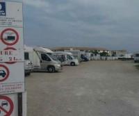 Parcheggio camper Saintes Maries
