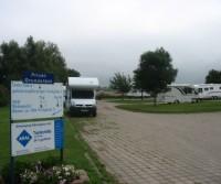 Parkplatz Strand Wittenbeck