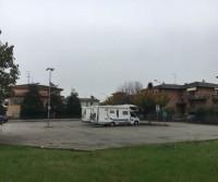 Area di sosta a Roccabianca
